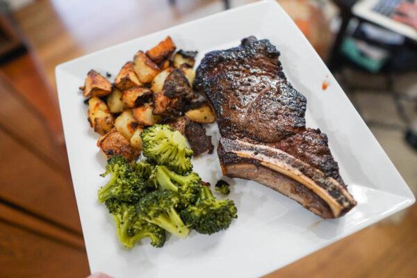 Sous Vide Steak After a Sear