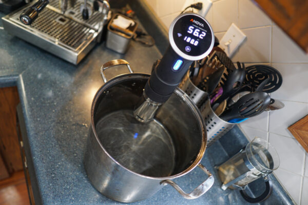 Sous Vide in Stock Pot